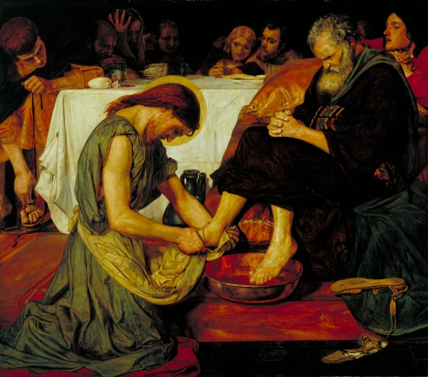 Ford Madox Brown Jesus Washing Peter's Feet  출처 : tate